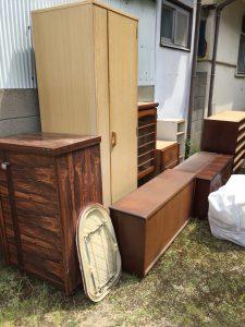 家具類その他回収です。