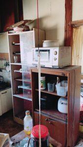 使ってない台所用品とお庭の不用品。